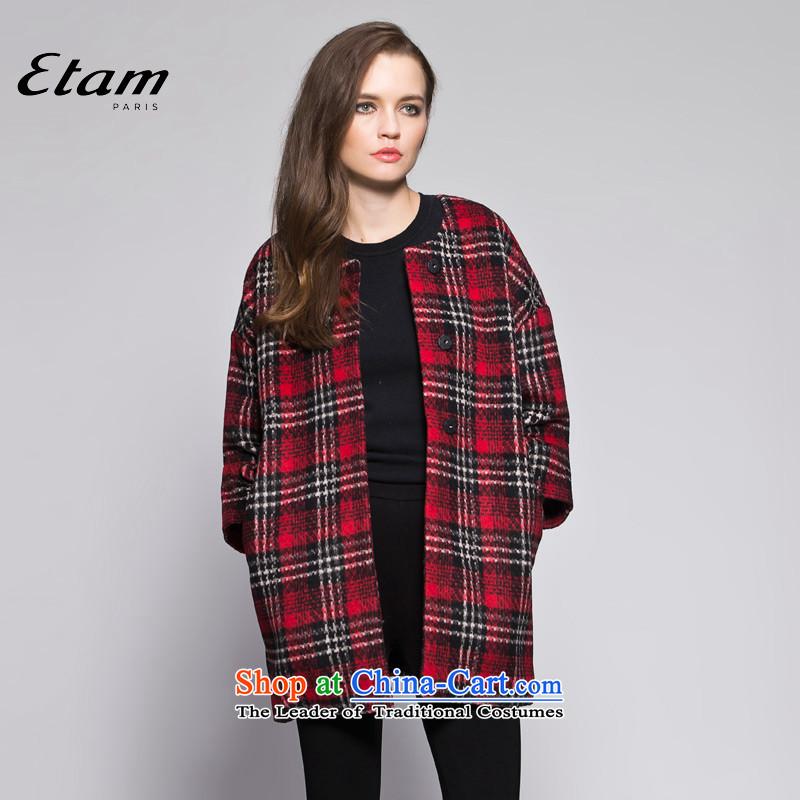 EtamETAMwinter minimalist style ribs 7 Cuff 14013411400 dark red160_36_S Coats