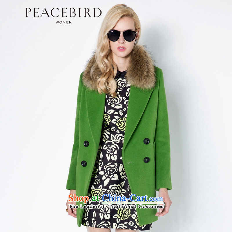 - New shining peacebird women's health, double-coats A4AA44551 green燣