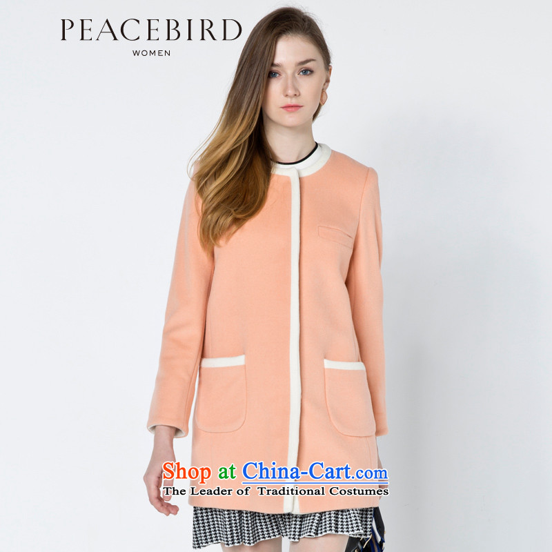 - New shining peacebird women's health for winter coats A4AA44592 posted bags toner orange燤
