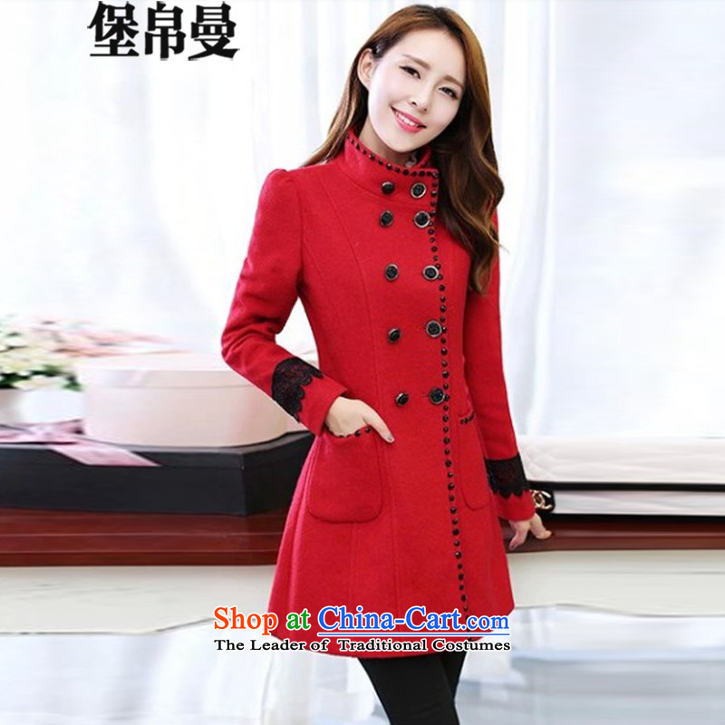 9Cayman�15 barrier for autumn and winter by Korean women in long hair? jacket�73_ Sau San燫ed燣