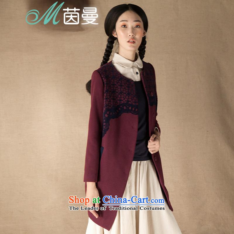 Minimalist, stamp neck long coats female hair_??- 8433200657 _jacket BOURDEAUX燣