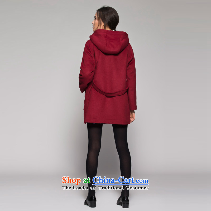 TheWEEKENDwinter wine red horns is long coats 14023409909 wine red170/40/L, Eiger etam,,, shopping on the Internet