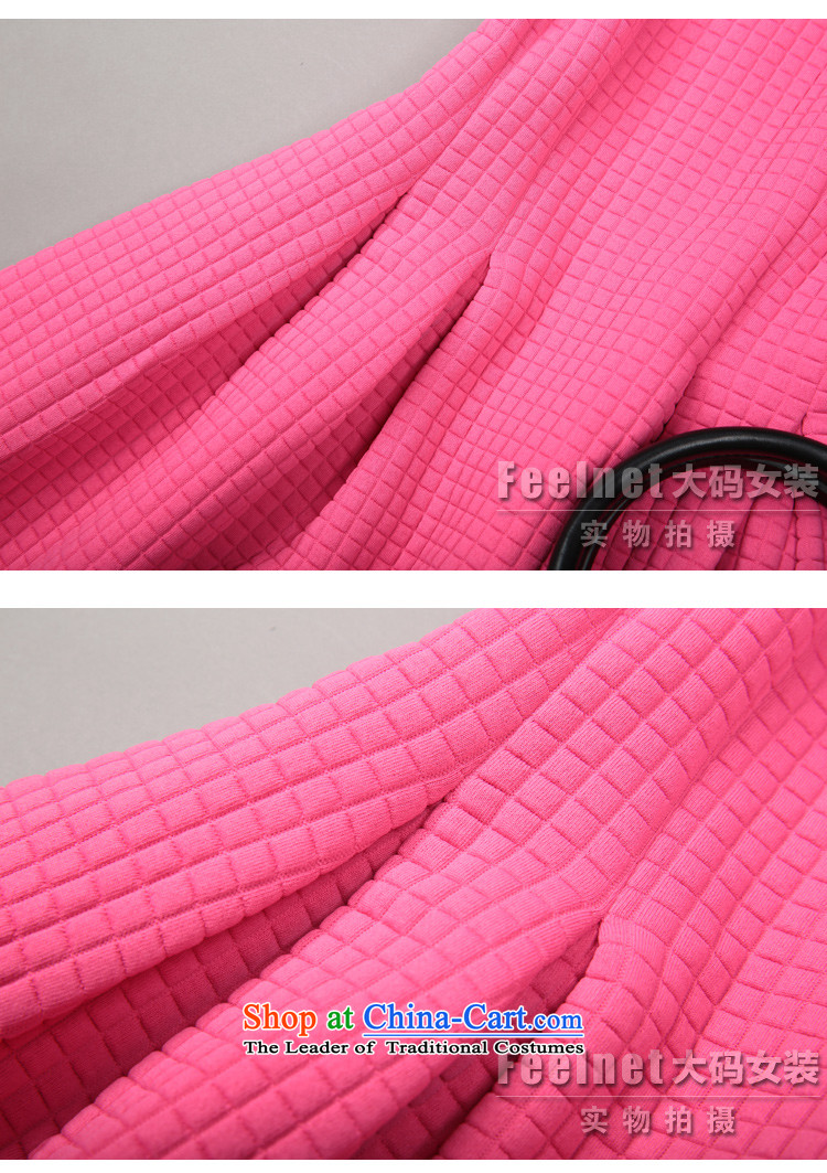 The skirt of Europe feelnet site new 2015 Fall/Winter Collections of European high-end temperament thick mm larger sleeveless dresses in large red 1490.. 3XL picture, prices, brand platters! The elections are supplied in the national character of distribution, so action, buy now enjoy more preferential! As soon as possible.