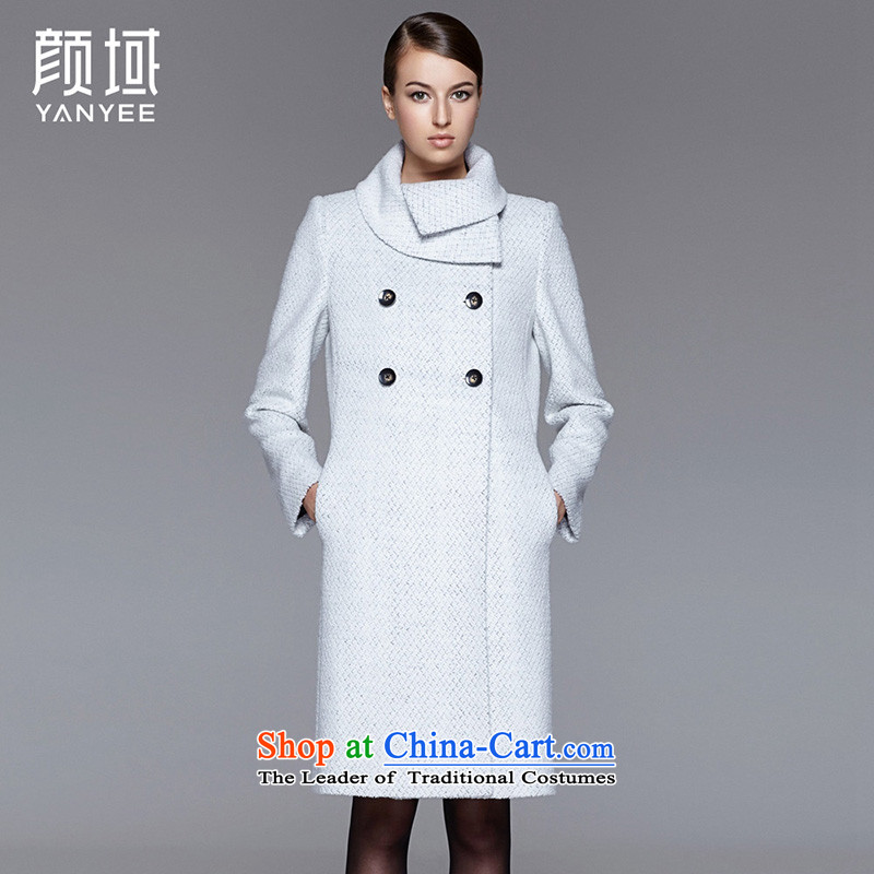 Mr NGAN domain 2015 autumn and winter new liberal large warm jacket girl of gross? Also Washable Wool a cloak�W4601 coats牋M_38 Light Gray