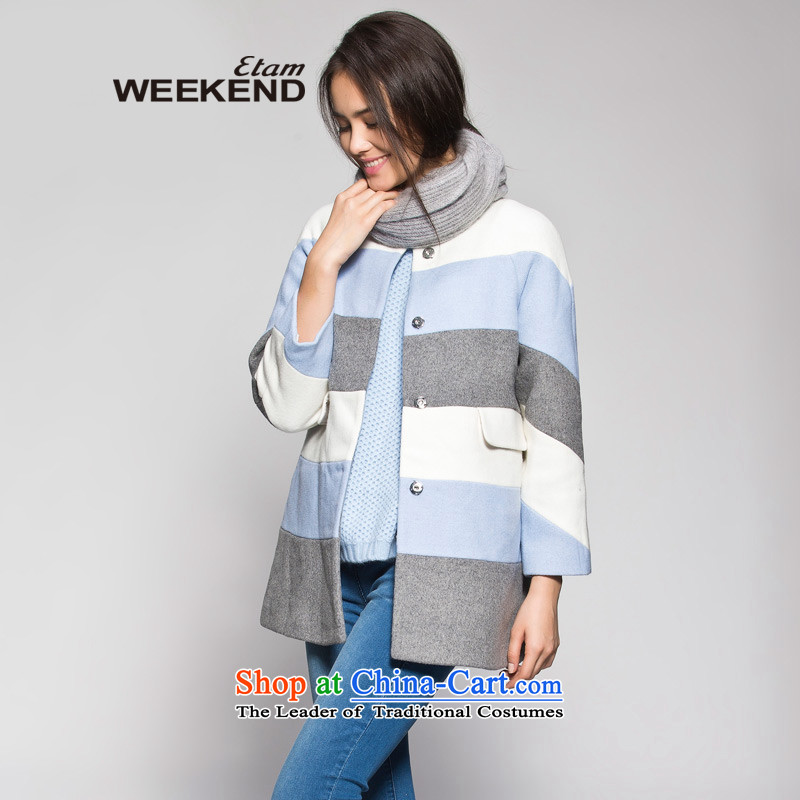 The WEEKEND winter spell color stitching A typeface gross? Jacket Color 165_38_M 14022114399