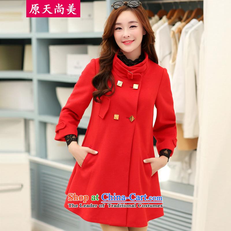 The original days Sang-mi�14 Winter Korean fashion in Sau San long coats of female燙C3601885 jacket?燫ED燤