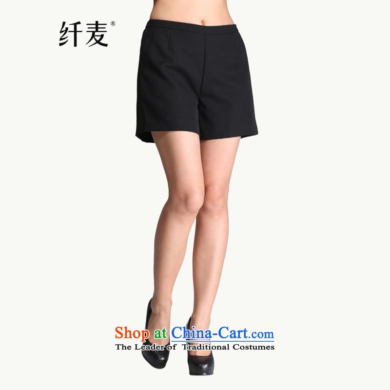 The former Yugoslavia Migdal Code women 2015 Spring new stylish mm thick OL video thin wild Black�L 951094545 Shorts