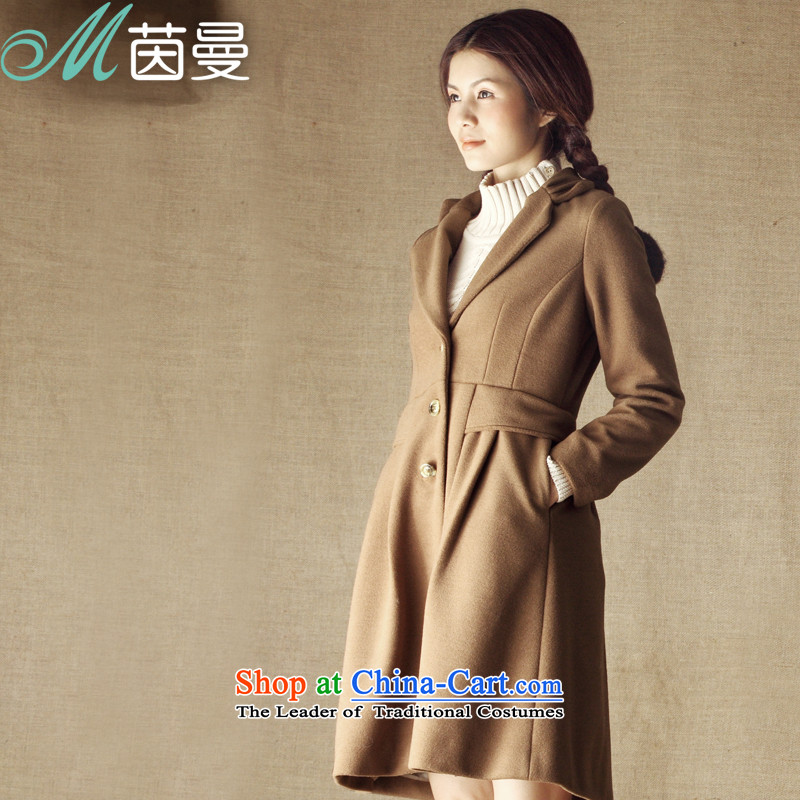 Athena Chu Cayman Women 2014 winter clothing suit for simple long hair a jacket 8343200139 and colorS