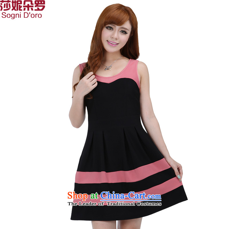 Shani flower of thick women were to xl dresses thick sister summer new product version won thin singlet skirts, we have 6 276 bed spaces black2XL