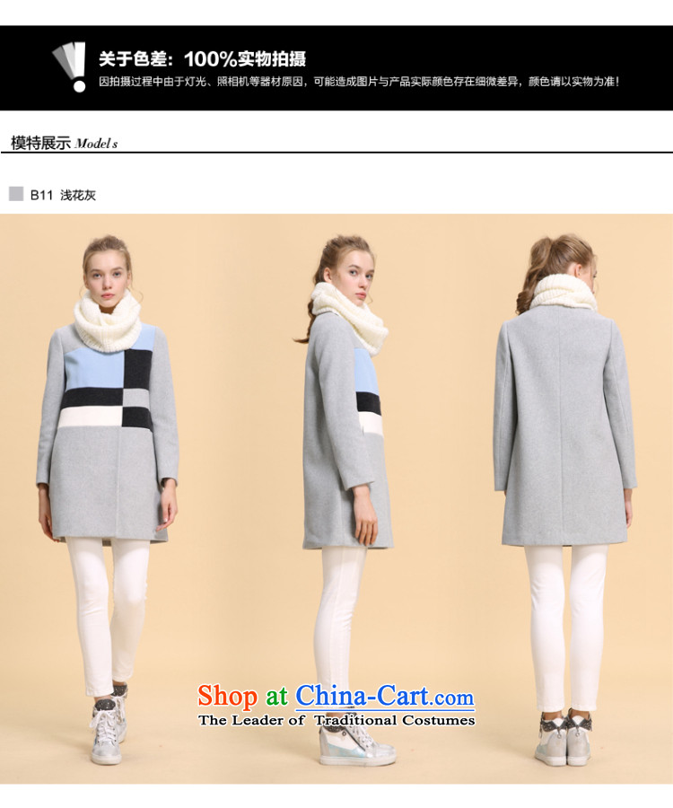 Song LeahGOELIAwinter clothing new color in the Spell Checker long coat14NC6E24B B11 Light GrayXl(170/92a) flower picture, prices, brand platters! The elections are supplied in the national character of distribution, so action, buy now enjoy more preferential! As soon as possible.