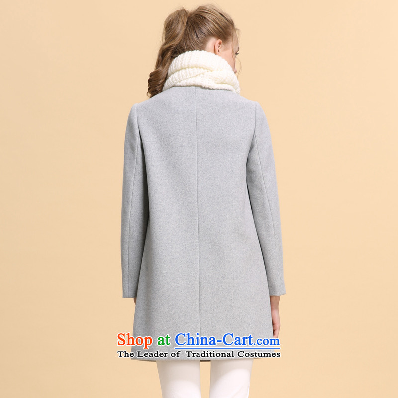 Song LeahGOELIAwinter clothing new color in the Spell Checker long coat14NC6E24B B11 Light GrayXL(170/92A), Flower Song Leah GOELIA () , , , shopping on the Internet