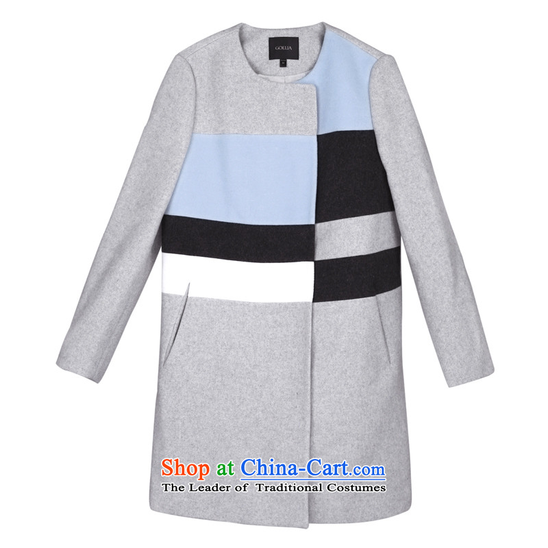 Song Leah GOELIA winter clothing new color in the Spell Checker long coat 14NC6E24B B11 Light Gray XL(170/92A), Flower Song Leah GOELIA () , , , shopping on the Internet