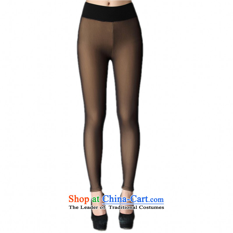 Package Mail C.o.d. women wear trousers with thick winter hypertrophy code and false flesh stockings pants even document warm trousers thick mm wild plus Bonfrere looked as casual pants color, lint-free boots�L燼pproximately 165-200 catty