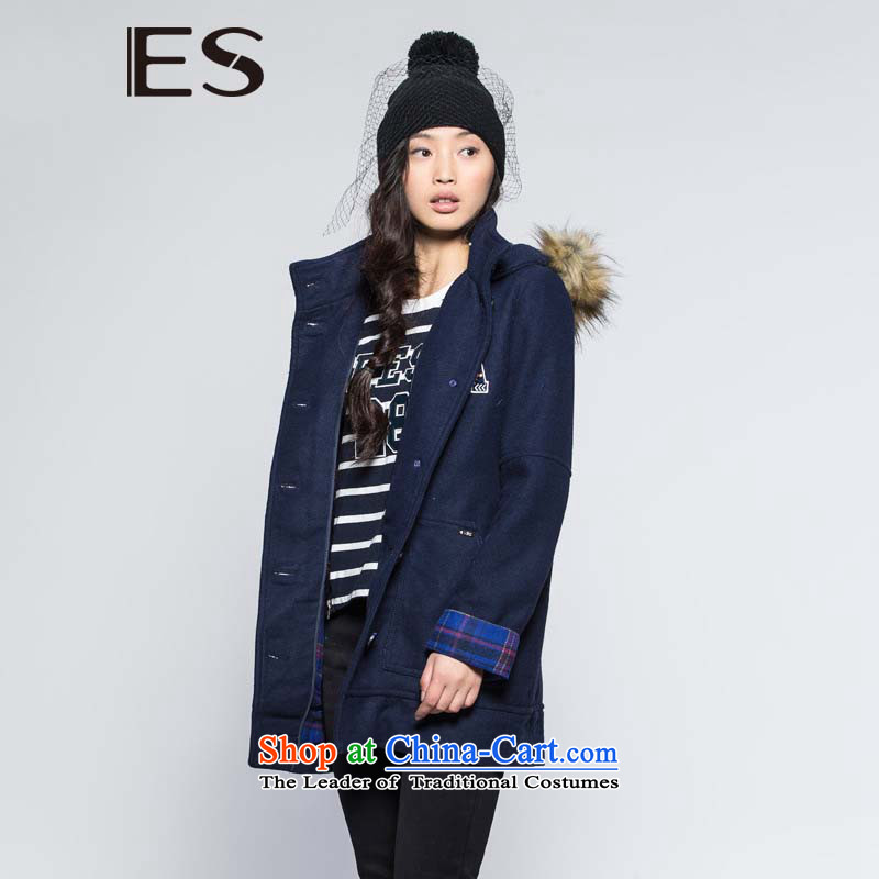 The燛S�-collar workers in winter long coats 14033419140 gross? Navy�0_36_S