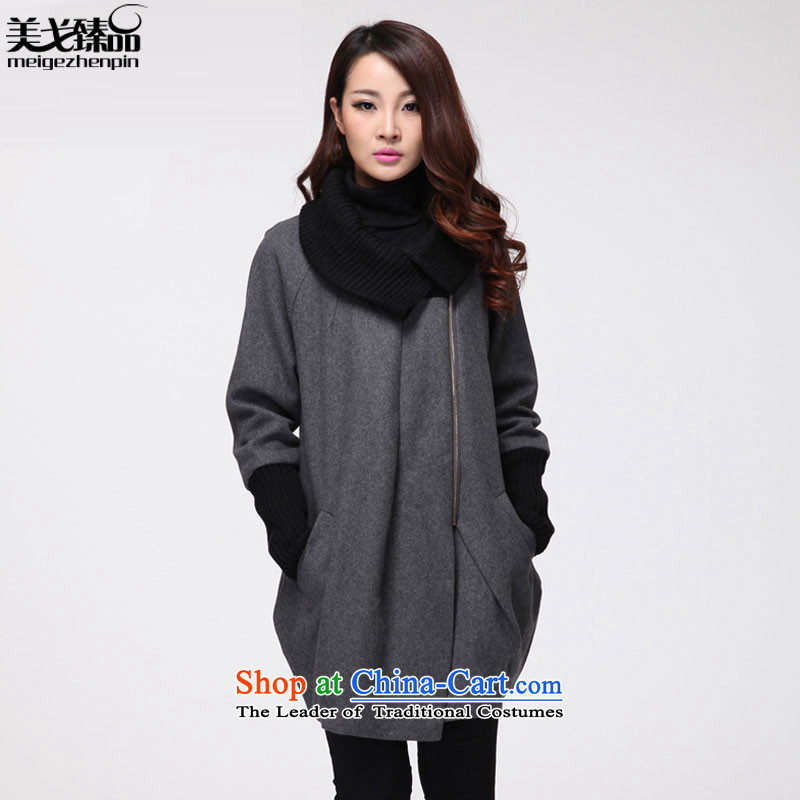 The United States and the Golan RHEA MEIYUAN Winter 2015 new larger female thick mm a collar coats jacket women gross? Gray L recommendations 130 catties following crossing