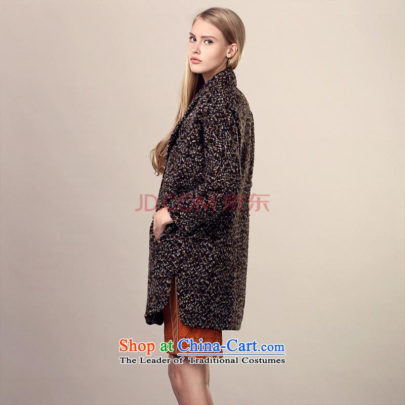 The MIRROR聽volume coarse wool terylene FUN coats Xuan D. Yellow聽M aristocratic Fong (MIRROR).... FUN shopping on the Internet