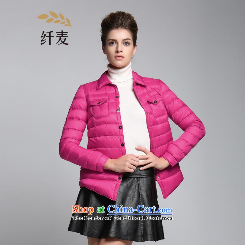 The former Yugoslavia Migdal Code women 2015 winter clothing new stylish mm thick stripes jacket coat�4122088 Sau San燽y red�L