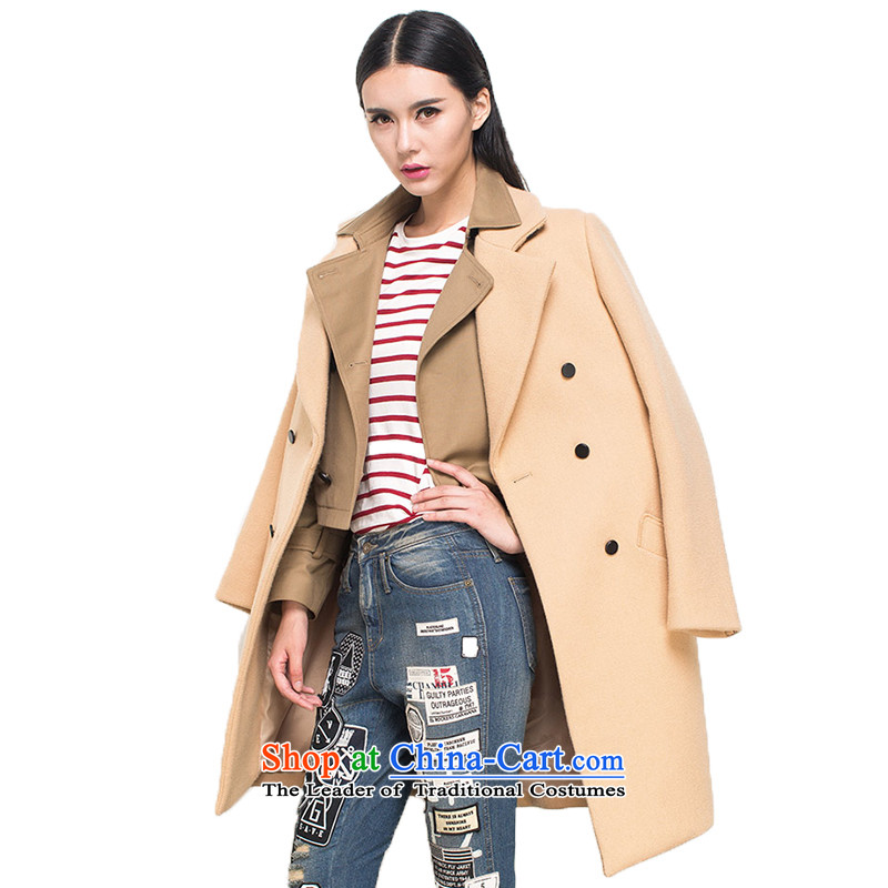 _pre-sale _- with nana, Evelyn Lai 2015 new wool coat long?_? coats and Color燤 pre-sale on 7 December _ shipment_