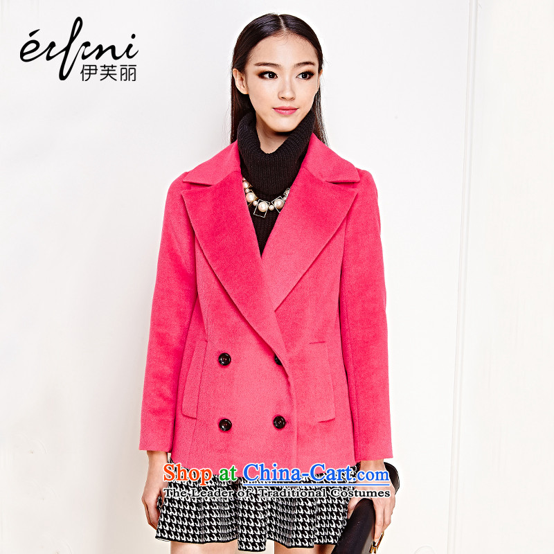 Of the 2015 autumn and winter, the new Korean female woolen a double-jacket 6481127213 gross? The Red燤