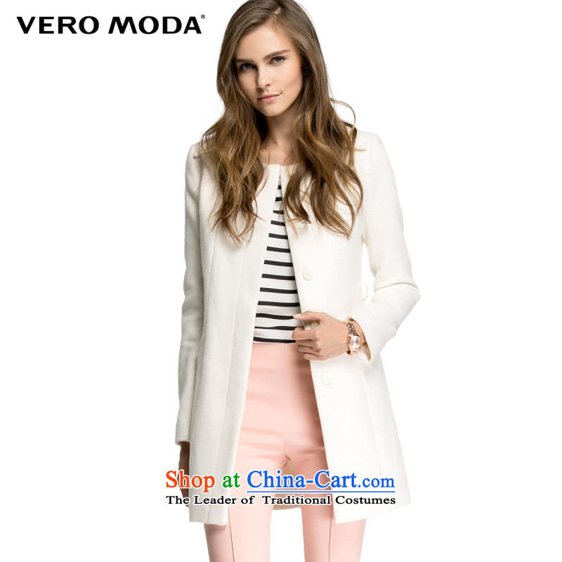 Vero moda included gross shoulder stitching three-dimensional construction in the plush coat |314427025? 020 white 155_76A_XS