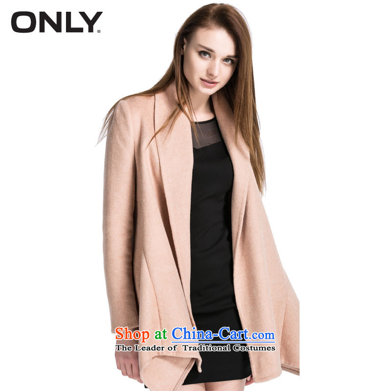 New products with spring ONLY2015 wool large roll collar in loose coat female L|11514s004 long hairs? And color?160/80A/S 130
