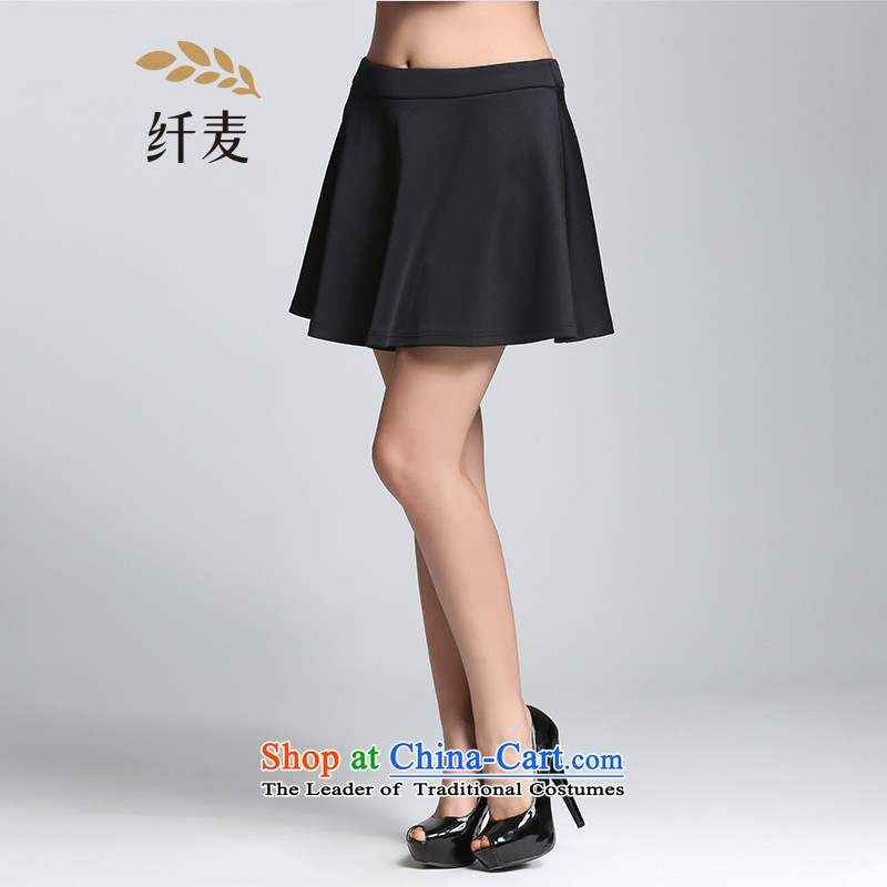 The former Yugoslavia Migdal Code women 2015 Spring new stylish mm thick zipper wild princess skirt�1252078燽lack�L