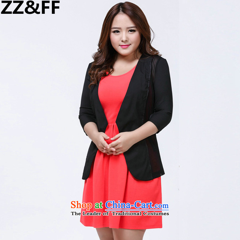 2015 Summer Zz_ff new to increase women's code 200 catties thick mm Mesh small black燲XXXL Light Jacket