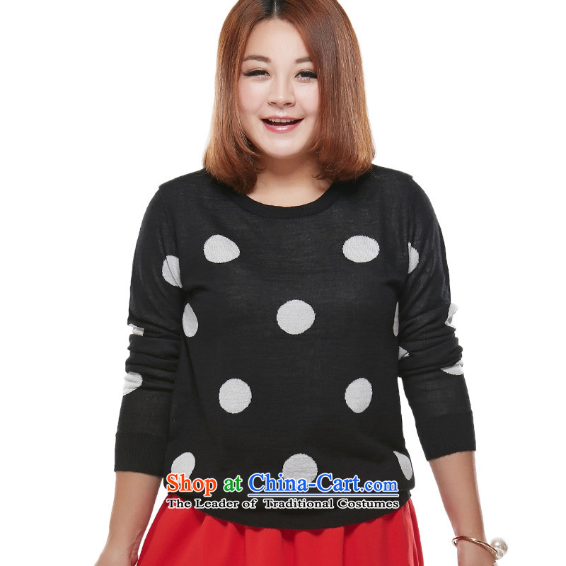 Maximum number of ladies' knitted sweaters black spots?3XL T-Shirt