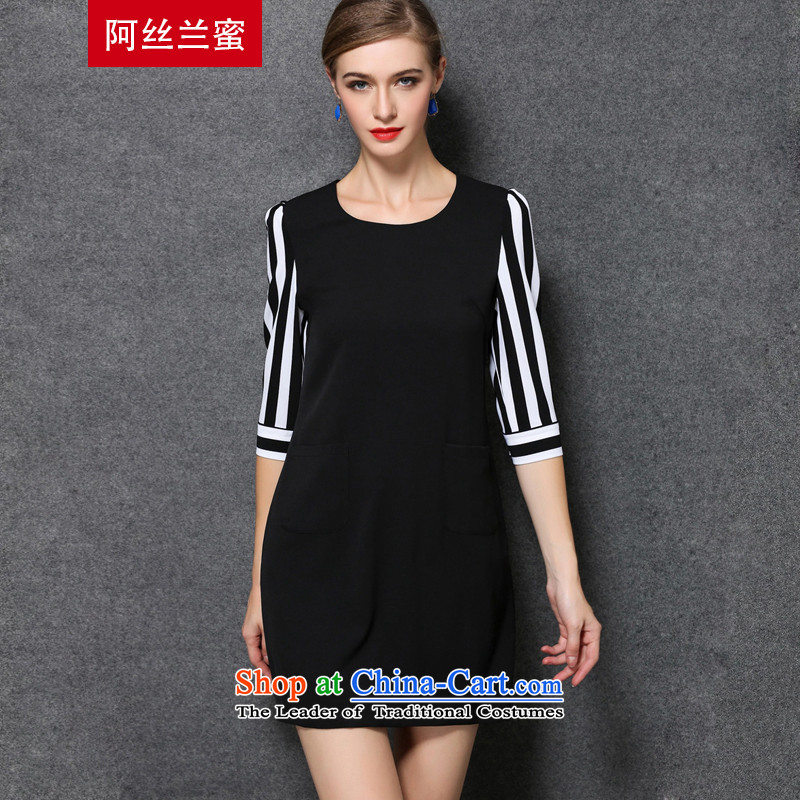 The population is estimated to increase women's code of honey thick MM THIN autumn 2015 installed graphics larger collision color streaks stitching dresses ZZ16652XL_135 white coal - 149 catties through_