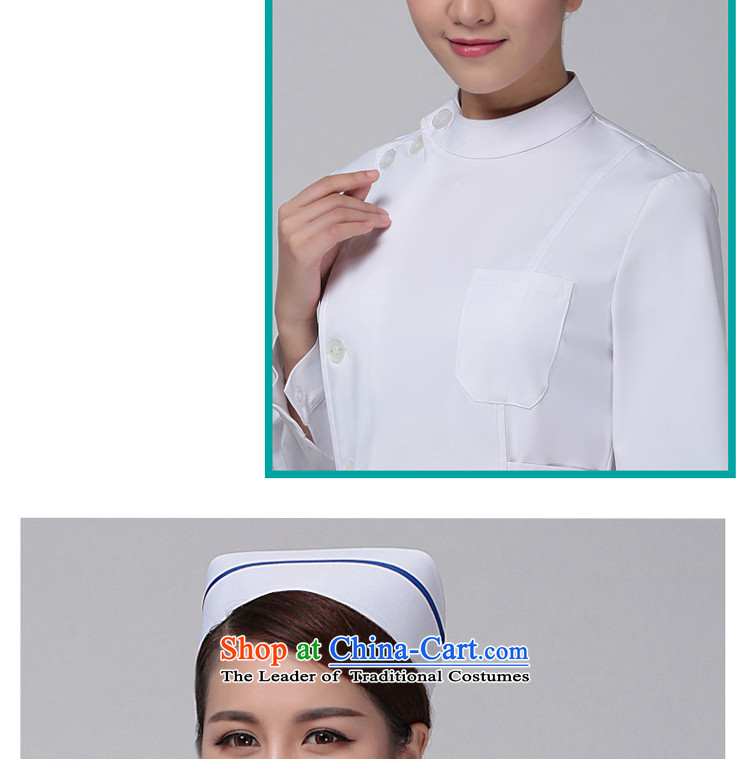 Ducept Nga nurses cap nurse uniform white gowns doctor service nurses all code picture, prices, brand platters! The elections are supplied in the national character of distribution, so action, buy now enjoy more preferential! As soon as possible.
