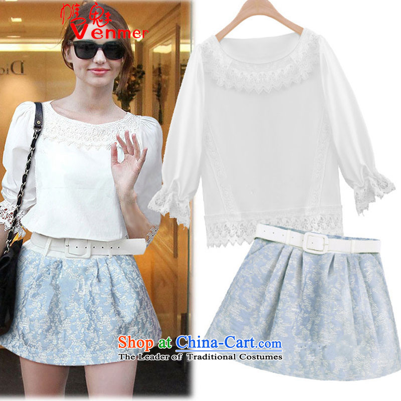 Large meiby female wild chiffon lace forming the Netherlands stamp short skirts kit two summer clothing skirts Aristocratic women9036 Springpicture colorS