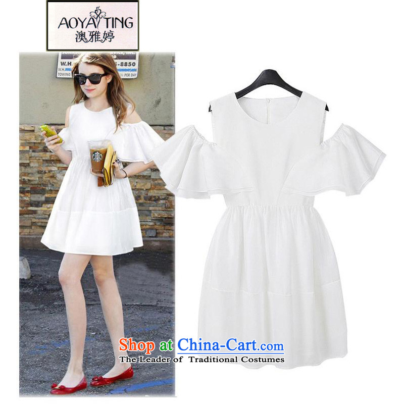 O Ya-ting�15 new to increase women's summer code thick mm video thin shoulders dresses female white�L�5-165 recommends that you Jin