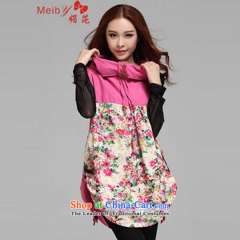 Large meiby female wild of floral stitching of ethnic sleeveless collar dresses larger?_78001 relaxd?the red are code