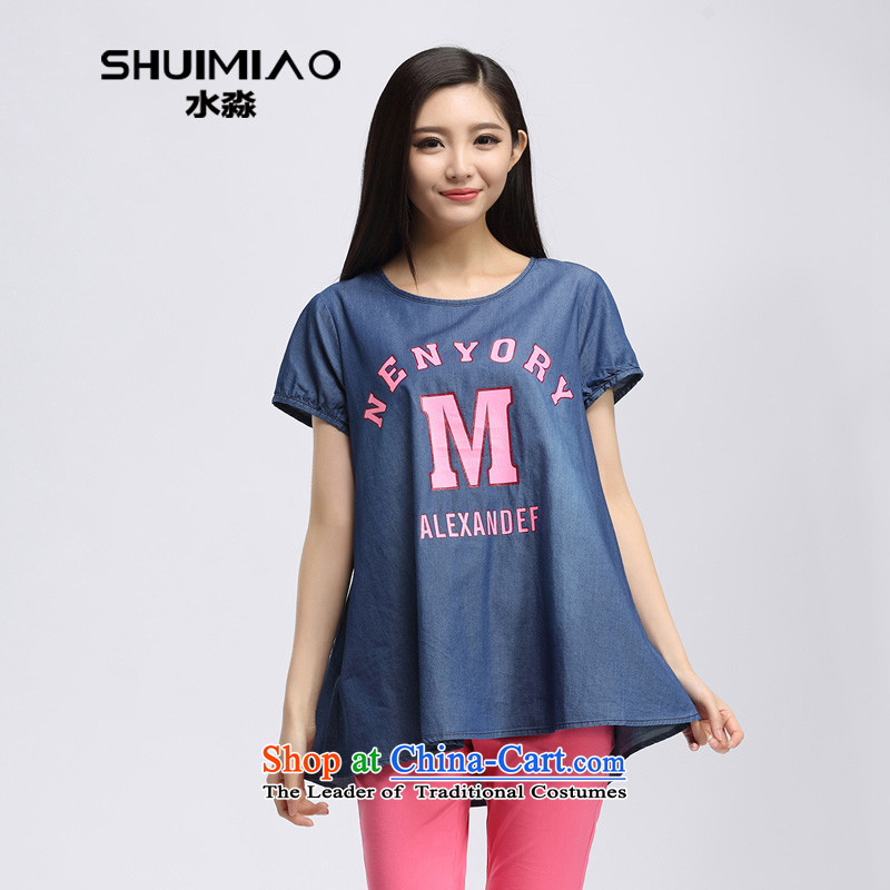 The representative of the water in the summer of 2015, replacing the new expertise in mm long to intensify a cowboy short-sleeved T-shirt S15XK4782 possession,XXL