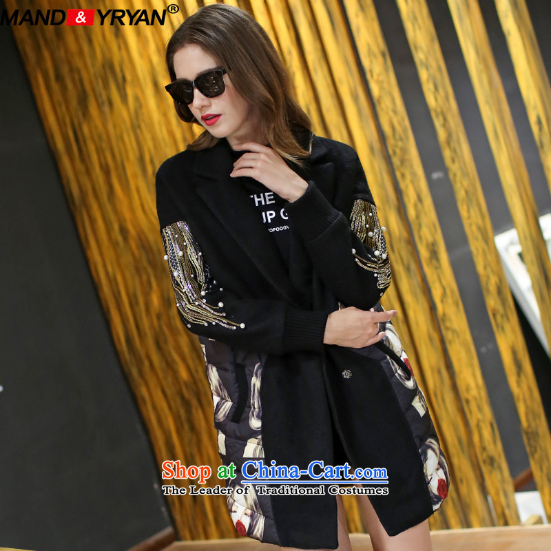 Mantile en code women Fall/Winter Collections thick hair? Long expertise butted MM video thin stitching gross figure MDR2140 coat? XXXL150-160 around 922.747