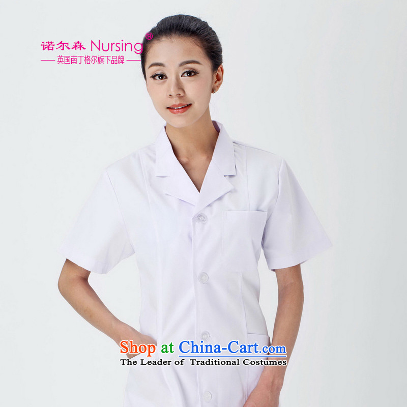 The nightingale flag, the sum of doctors to serve FDS-08 short-sleeved nurse uniform white gowns summer clothing female white燤