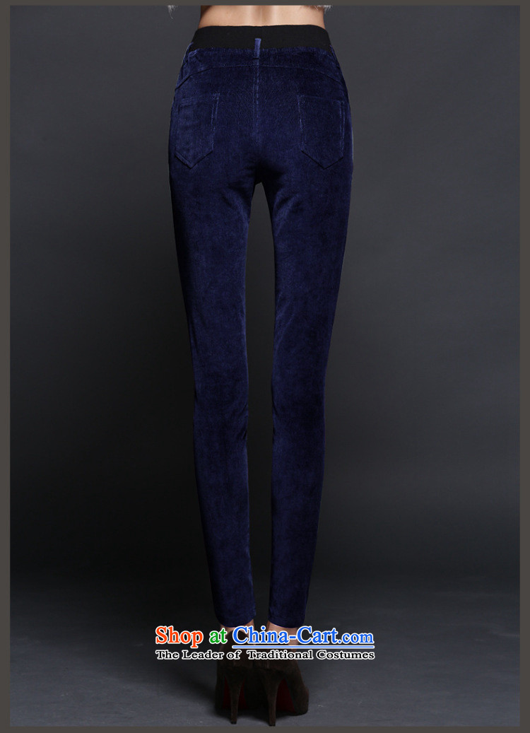 Athena Chu Isabel autumn and winter to xl female corduroy leisure pant trousers corduroy Elastic waist thin stretch castor trousers pencil trousers female pants 1264 Royal Blue 2XL recommendations 135-150 catty picture, prices, brand platters! The elections are supplied in the national character of distribution, so action, buy now enjoy more preferential! As soon as possible.