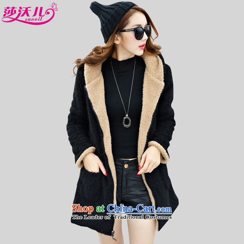 Elisabeth Kosovo children to increase women's code thick mm thick Korean version of SISTER fashion through thick and both positive and negative, lint-free, warm sheep emulation fireworks lint-free jackets�05燾olor large picture code XL recommendations p