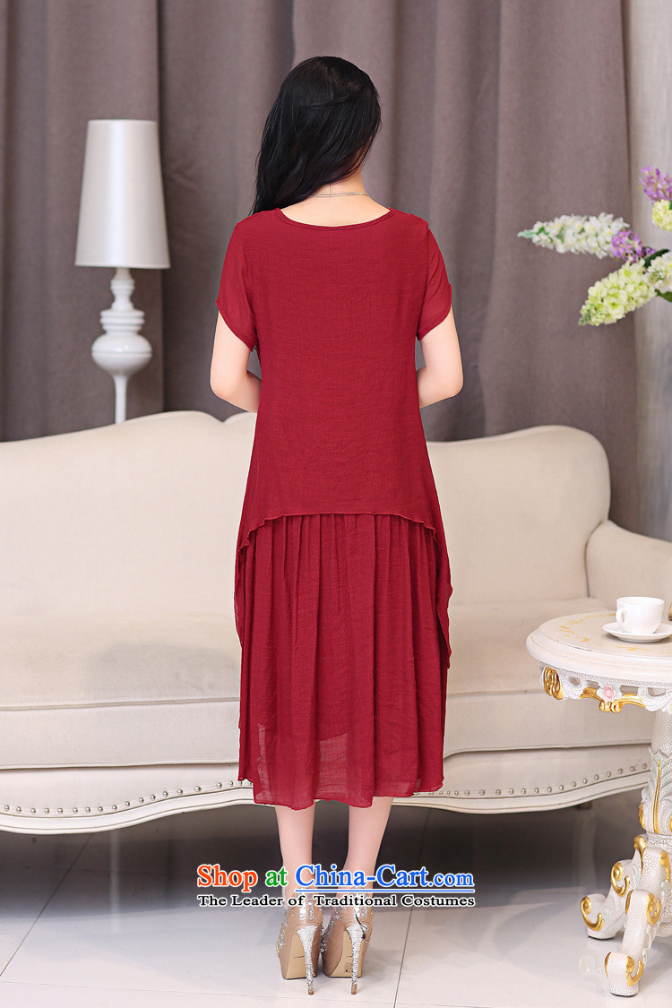 El-ju Yee Nga thick sister summer larger female cotton linen dresses YJ066聽XXXL Blue Photo, prices, brand platters! The elections are supplied in the national character of distribution, so action, buy now enjoy more preferential! As soon as possible.