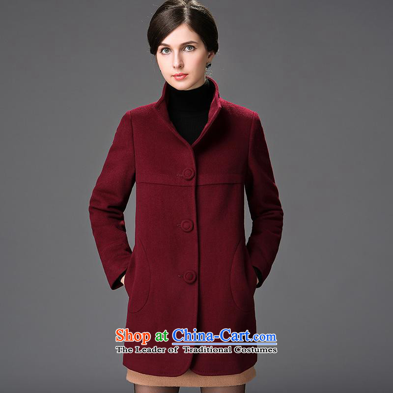 Hengyuan Cheung winter for women in the new year in long wife? for winter coats of Sau San Tong Sub-wool coatnansan chestnut horses165/88A/L?