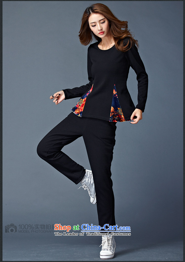 Elisabeth Kosovo's 2015 Fall/Winter Collections new to increase women's code is not down the lint-free thickened lint-free warm two leisure sweater Kit8802Black 4XLrecommendations 165-180 catty picture, prices, brand platters! The elections are supplied in the national character of distribution, so action, buy now enjoy more preferential! As soon as possible.