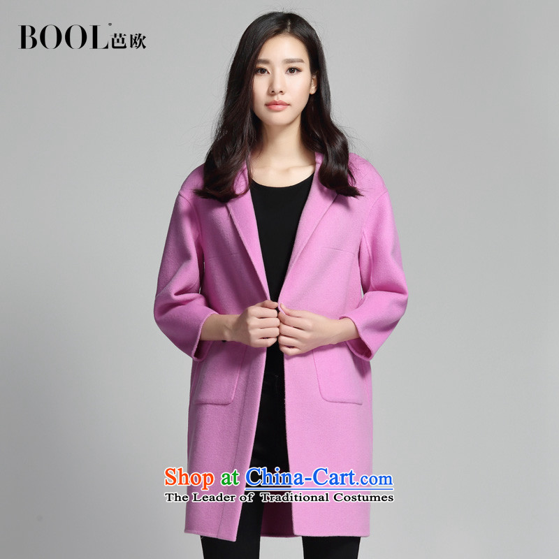 Barbara Euro�15 Autumn new hand washable wool double-side suit coats, long hair? coats bauhinia toner燬