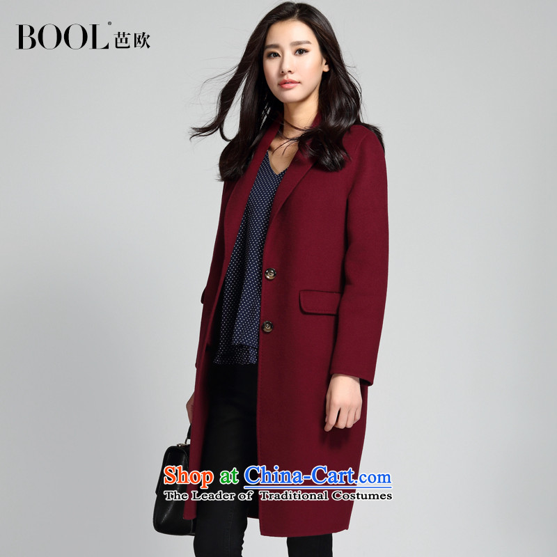 營n the fall of 2015, the OSCE and the new president of gross jacket wool Korean? suede coats deep red燬
