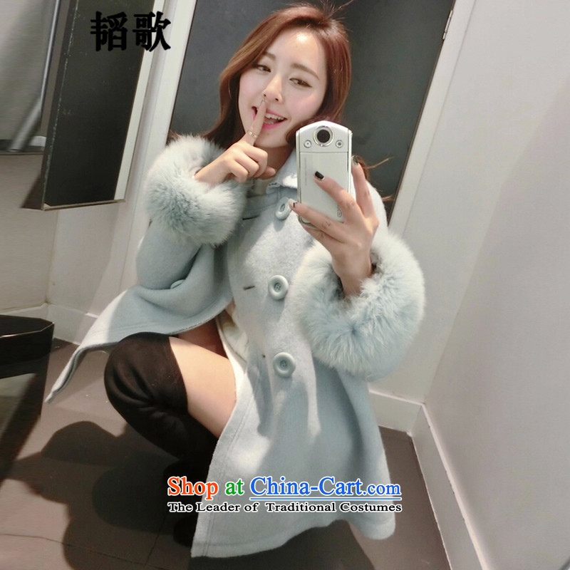 Song Tao winter clothes for larger gross? a jacket female relaxd a version field female thin coat LY1063\ map color 3XL around 922.747 150 - 160131
