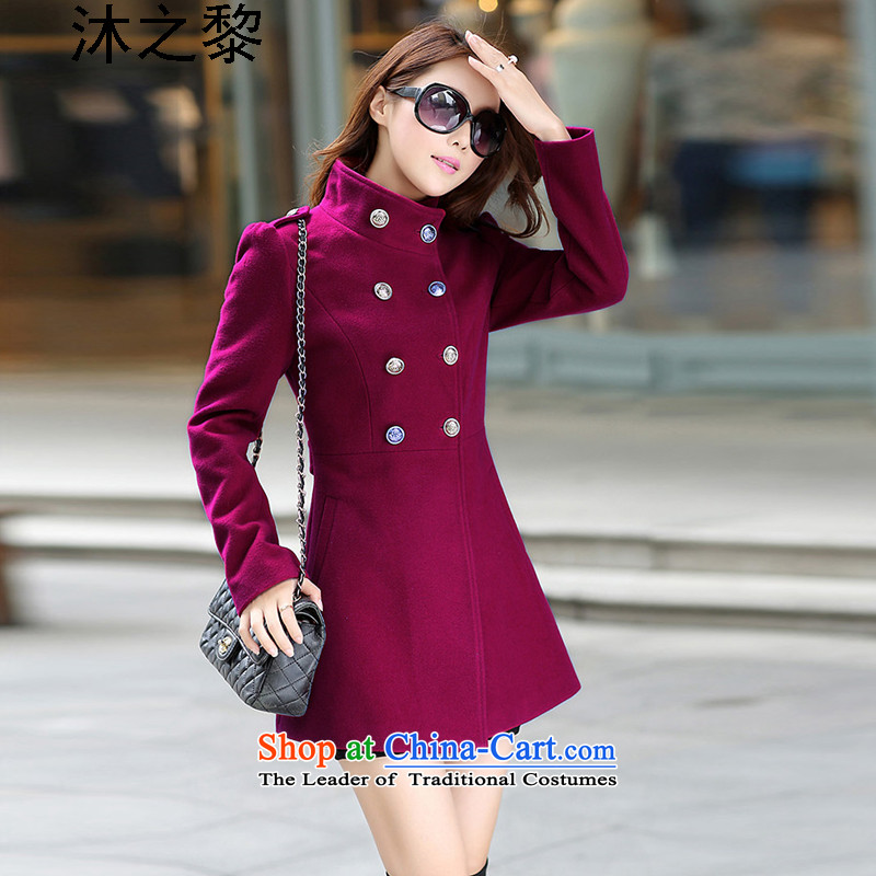 Bathing in the autumn and winter of 2015 Lai new Korean version in a large number of women�10爓ine red燲L