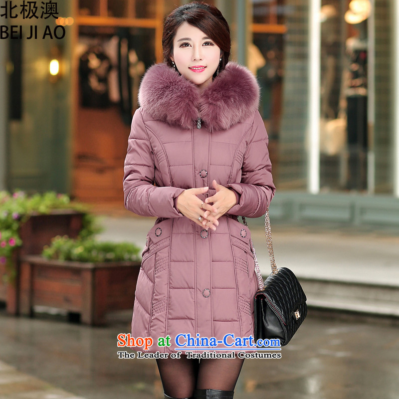 The Arctic Winter 2015 new o large padded coats women serving in cotton long for cotton jacket usual zongzi nagymaros color�L