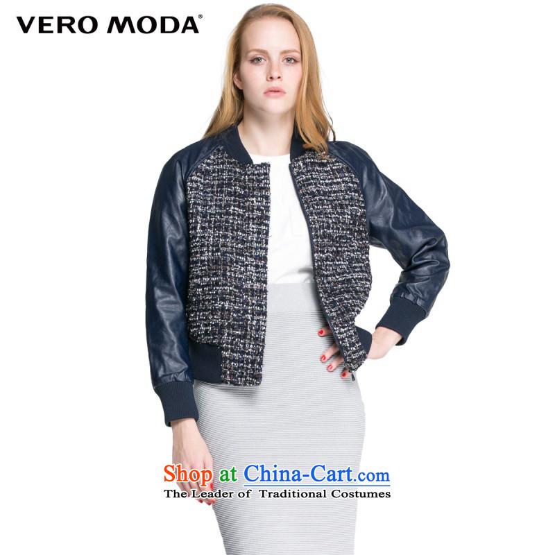 Moda Stylish retro design vero rough?, the floral decorations of the jacket |315327033 weaving blue?165_84A_M 031