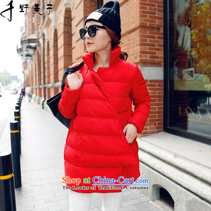 Chino Fumiko larger women in winter long coat collar loose cotton swab, Ms. Jacket Color Picture services聽5XL around 922.747 180-200