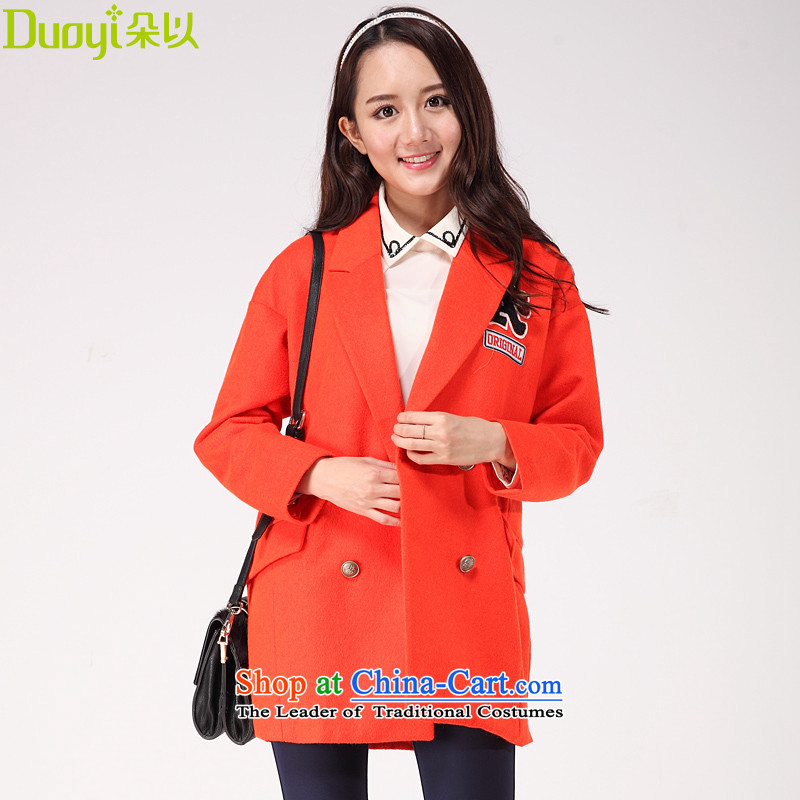 In the autumn of 2015, with a new western style, double-coats 30DQ73820 gross? orange燣