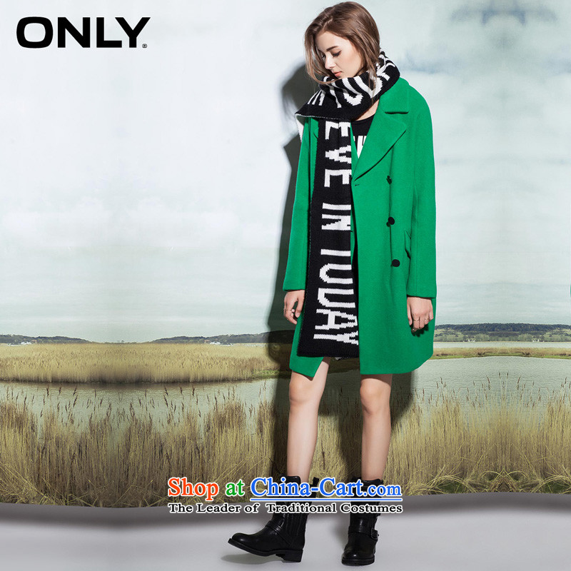 Load New autumn ONLY2015 included wool double-loose ends in plush coat-girl L|11534s014? 040 green�0_80A_S
